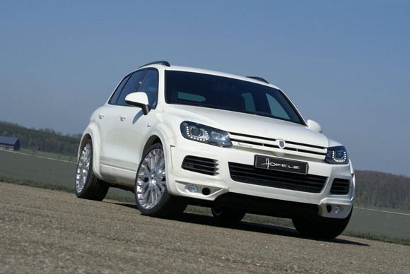 Volkswagen Touareg II Royal GT 470 by Hofele Design 3