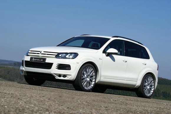 Volkswagen Touareg II Royal GT 470 by Hofele Design 6