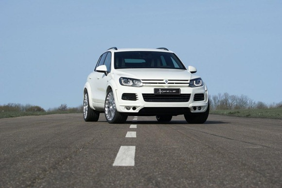 Volkswagen Touareg II Royal GT 470 by Hofele Design 7