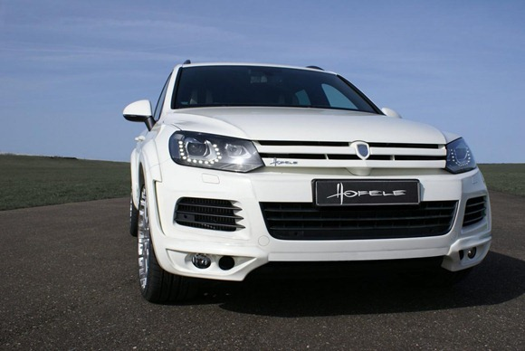 Volkswagen Touareg II Royal GT 470 by Hofele Design 8
