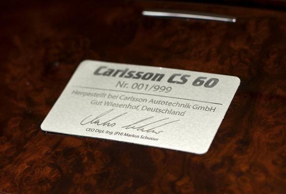 Carlsson CS60 based on Mercedes-Benz S-Class (8)