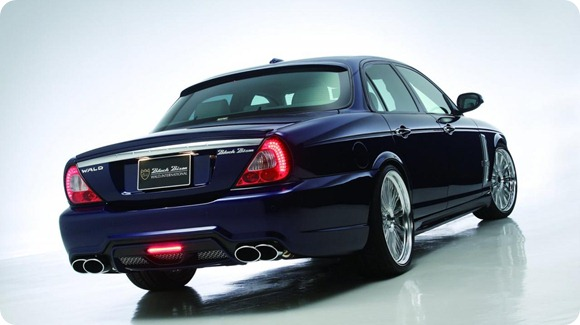 Jaguar XJ X350 Black Bison Edition by Wald International 15