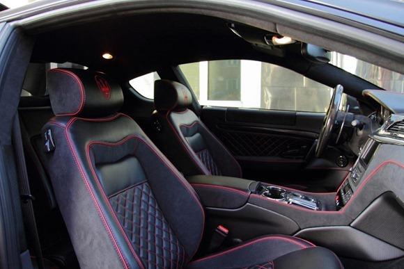 Maserati Gran Turismo S Superior Black Edition by Anderson Germany 11