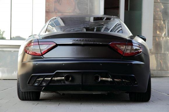 Maserati Gran Turismo S Superior Black Edition by Anderson Germany 2