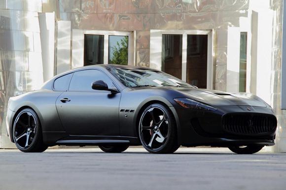 Maserati Gran Turismo S Superior Black Edition by Anderson Germany 3
