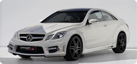 Mercedes E-Class coupe by Expression Motorsport  1