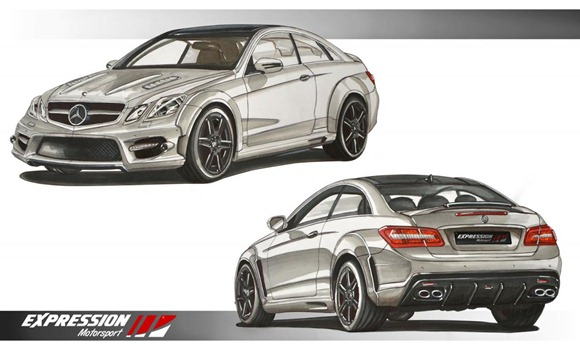 Mercedes E-Class coupe by Expression Motorsport  3