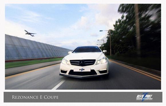 Mercedes E-Class coupe & convertible by RevoZport 1