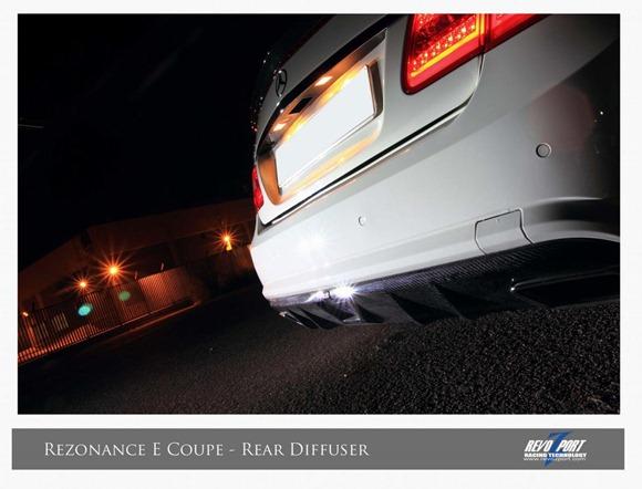 Mercedes E-Class coupe & convertible by RevoZport 5