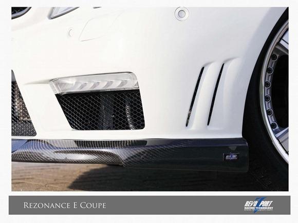 Mercedes E-Class coupe & convertible by RevoZport 8