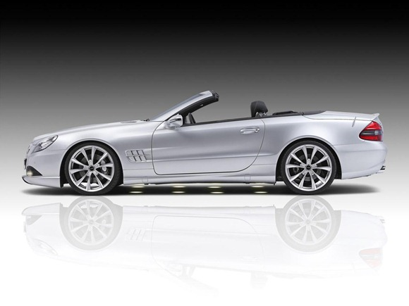 Mercedes SL by Piecha Design 2