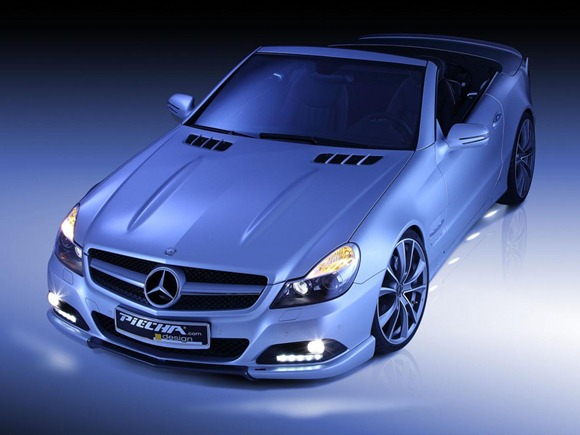 Mercedes SL by Piecha Design 4