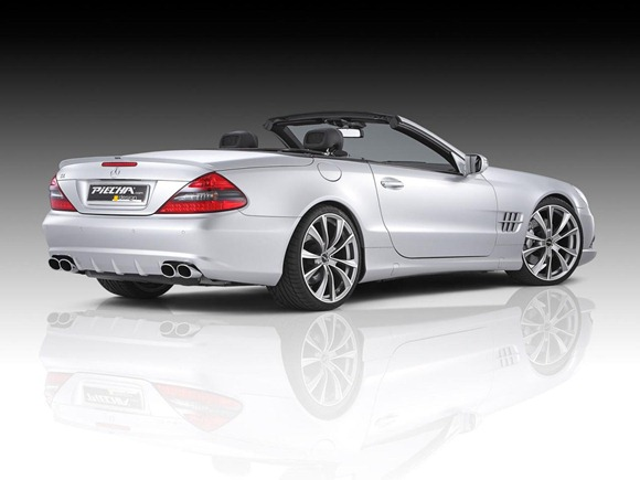 Mercedes SL by Piecha Design