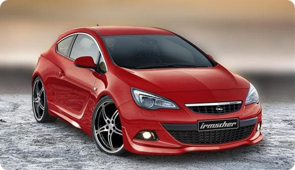 Opel Astra GTC by Irmscher