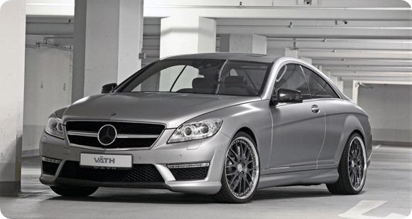 Mercedes CL63 AMG by VÄTH 1