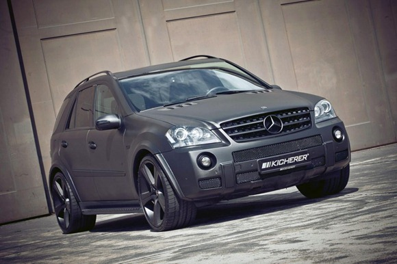Mercedes ML63 AMG Carbon by Kicherer 1