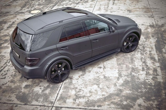 Mercedes ML63 AMG Carbon by Kicherer