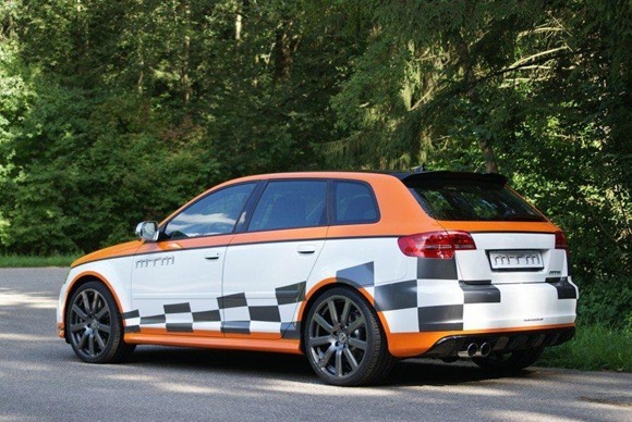 Audi RS3 tuned to 472 HP by MTM 1