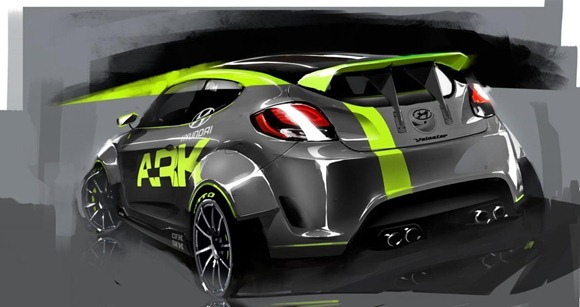 Hyundai Veloster by ARK Performance 2