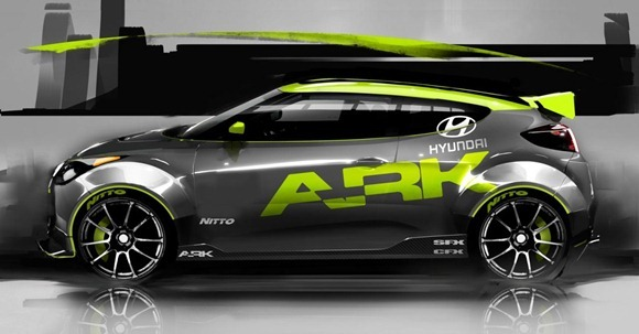 Hyundai Veloster by ARK Performance 3