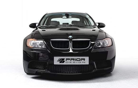 Wide-body kit for the E90 BMW 3-Series (13)