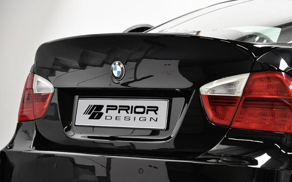 Wide-body kit for the E90 BMW 3-Series (6)