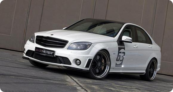 Mercedes C63 White Edition by KICHERER 1