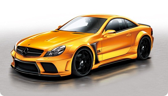 Veilside SL65 AMG Black Series conversion for SL-Class 1