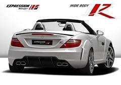 Mercedes-SLK-R-rear