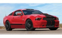 2013-Shelby-GT350-coupe-front-three-quarter-red