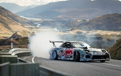 Mazda-RX-7-Red-Bull-drift-car-front-three-quarter-motion