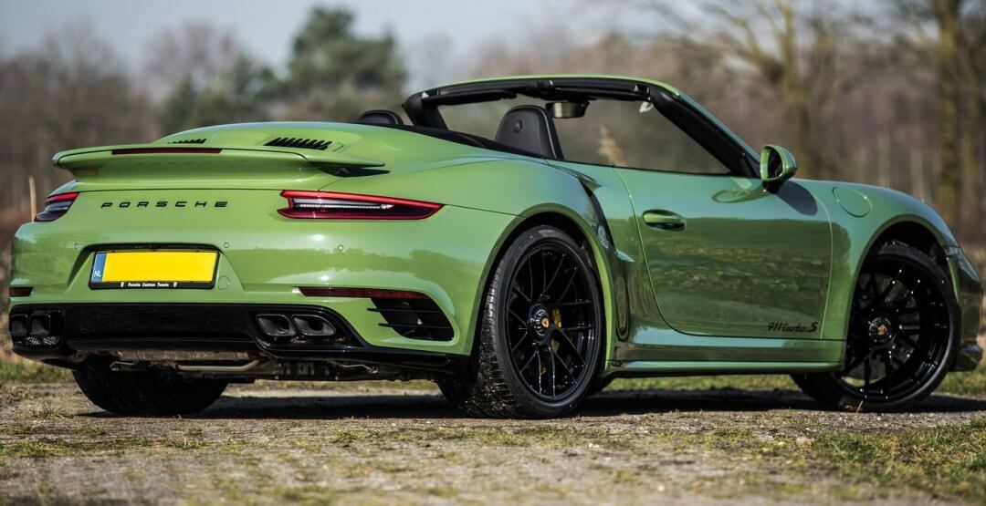 Edo Competition Porsche 911 Turbo S 6